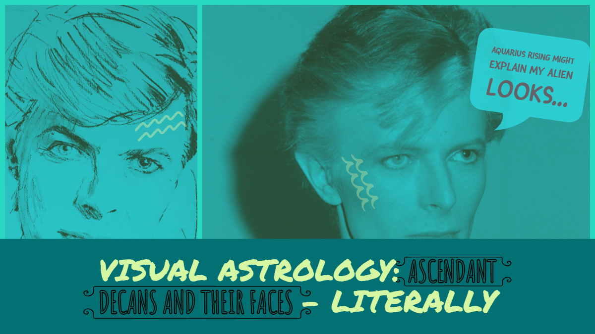 Ascendant decans and their faces, literally: AQUARIUS – Hermit Fool