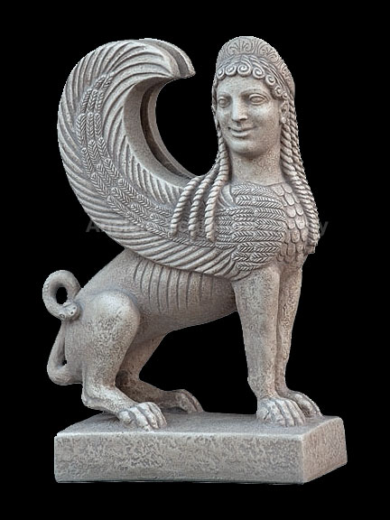 Ancient-Greek-Sphinx-Statue