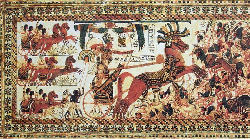 Pharaoh-Tutankhamun-riding-a-chariot-.jpg