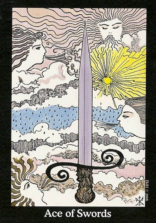 Ace of Swords Whispering Tarot