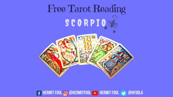 Free Tarot Reading For August: Scorpio ♏ – Hermit Fool