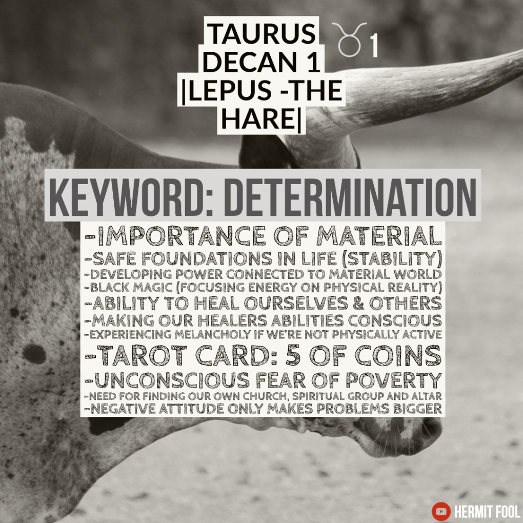 Taurus decan 1 description(1)
