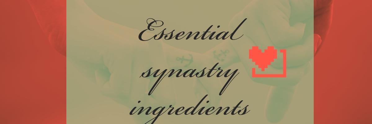Essential synastry ingredients – Hermit Fool