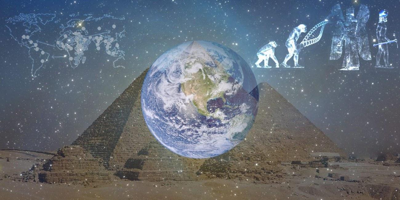 The Anunnaki Gods - pyramids